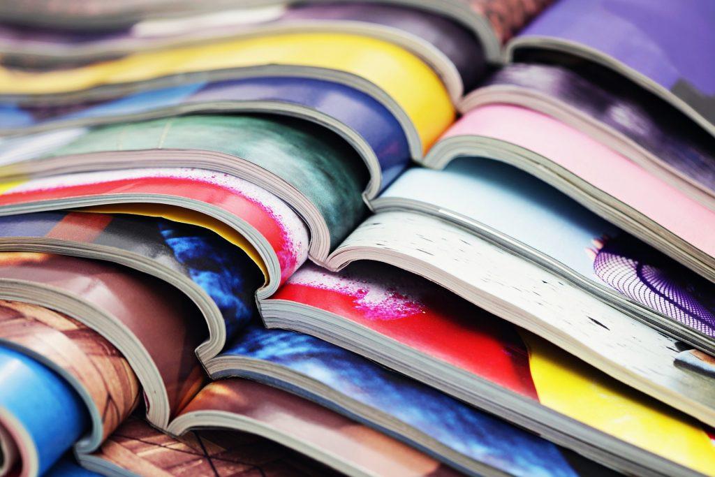 Colored Magazines